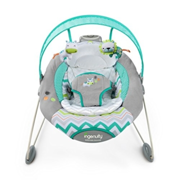 Spieldosen Babywippe elektrisch mit Melodie  Baby Bouncer